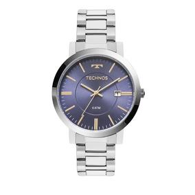 44e431d164eb9 Relogio Technos Fundo Azul - Relógios no Mercado Livre Brasil