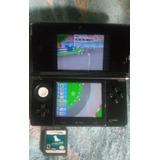 Nintendo 3ds Chipeado Y Con 2 Juegos Originales