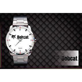cb0a9d98cf1 Relógio De Pulso Personalizado Logo Bob Cat Retroescavadeira