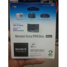 Cartão Sony Pro Duo 2 Gb Original Lacrado Novo