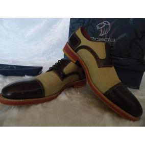 Zapatos Prada Para Hombre Originales 42 Europeo 7.5 / 8 Mex