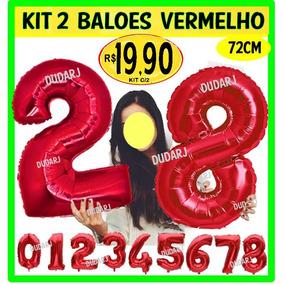 Balao Metalizado Numero 22 - Balões Metalizados no Mercado Livre Brasil ebef911a0f
