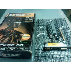 Tarjeta De Video Zotac Geforce 210 1gb Pci Express