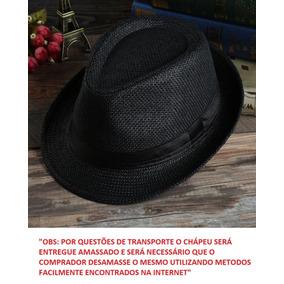 Chapeu Panama Palha Aba Larga - Chapéus para Masculino no Mercado ... d146a026636