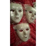 Máscara Jabbawockeez Blanca Hip Hop Halloween Mascara