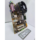 Kit Intel Lga 775 -core2 Duo E8400 + Placa Mãe + 4gb+ Cooler