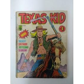 Texas Kid Nº 1 Editora Abril