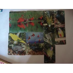 Cartão Telefônico Telepar Série Parque Das Aves