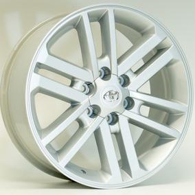 Roda Toyota Hilux Kr R37 / Aro 17x7 / Prata (6x139)