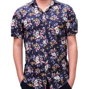 Camisa Social Florida - Camisa Masculino no Mercado Livre Brasil fbd57690797e6