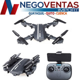 Drone Rc Elices Retractiles Wifi 2,4ghz Con Control Remoto