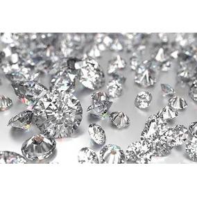 4 Diamantes Blancos Cz .27 Quilates