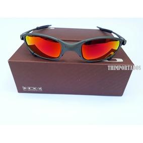Armação Vermelha Grande De Sol Oakley Juliet - Óculos no Mercado ... d048346839