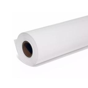 10 Rolos De Papel Sulfite P/ Plotter 91,4cm X 50m X 75g