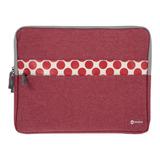 Funda Para Laptop 15.6 Gris Rojo Goodis A0003147