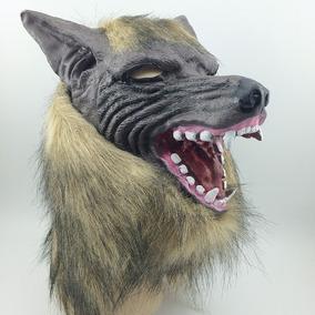 Máscara Lobisomen Lobo Mau Halloween Carnaval Festa Fantasia