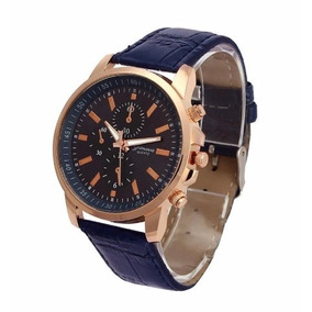 fc8b5c77e11 Relógio Masculino Executivo Pulseira De Couro - Joias e Relógios no ...