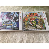 Pokemon Ultra Moon Luna Y Zelda Triforce Heroes 3ds Nuevos