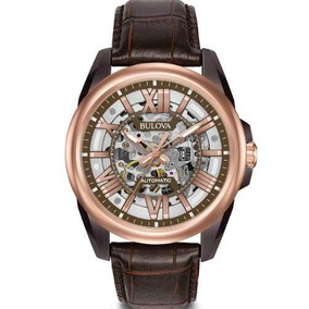 8060ef2088a Relogio Constantin Automatico Skeleton Rose Unissex - Relógios De ...