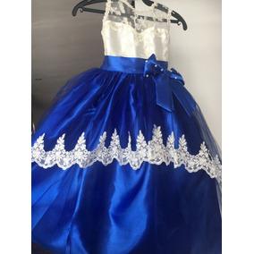 1defd1f82 Vestido De Fiesta Para Niña, Talla 4 Años, Bfn - Vestidos Azul en ...