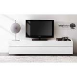 Mueble De Tv Minimalista Laca Sobre Diseño