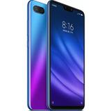 Xiaomi Mi 8 Mi8 Lite Global 128 6g Ram Azul Garantia 1 Ano