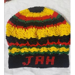 Touca Gorro Feito A Mao Crochê Reggae Jah 91c7f330825