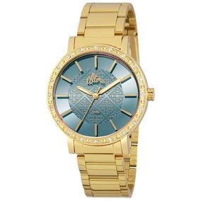 7cd22c01118 Relogio Feminino Dourado Allora - Relógio Allora Feminino no Mercado ...