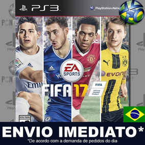 Fifa 17 Ps3 - Mídia Digital Psn | Português Brasil Promoção