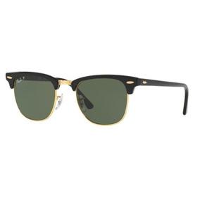 41877a5e3c957 Oculos Sol Ray Ban Clubmaster Rb3016 901 58 51mm Polarizado
