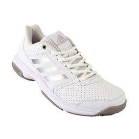 new styles ed29b 0d358 Zapatilla Mujer Tenis adidas Adizero Attack Original Blanco