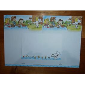 Lindo Conjunto De Papel De Carta Snoopy - Hallmark