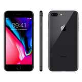 Iphone 8 Plus Cinza Espacial 256gb Anatel Lacrado Nota