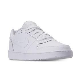Tenis Nike Ebernon Low Blanco Caballero 100% Original D