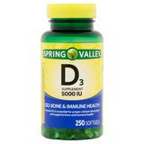 Vitamina D3 5000 Iu Con 250 Piezas Envio Gratis Todo El Pais
