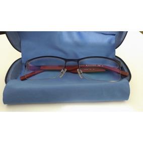 9884b6b2d294f Maravilhoso Óculos Tommy Hilfiger Azul Branco Vermelho - Óculos no ...