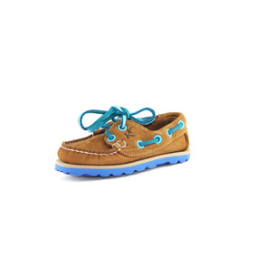 Zapatos Nauticos Mocasines Peskdores Niños Honeyblue Hbk002