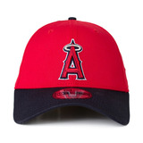 Boné New Era Los Angeles Angels 39thirty Aba Curva Vermelho 9472a40ff8e