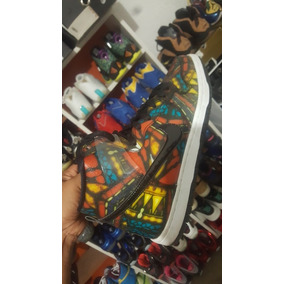 Nike Dunk High Pro X Concepts Stained Glass