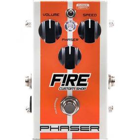 Pedal Fire Custom Shop Phaser E Vibrato | Guitarra E Baixo