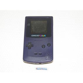 Console Game Boy Color Azul Tela Ruim