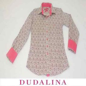 1b896687cb4 Camisa Dudalina Feminina Estampada - Calçados