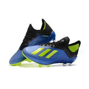 ba143ff237 Chuteira Adidas Azul E Amarela - Chuteiras para Adultos no Mercado ...