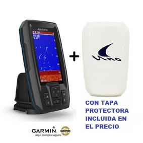 Ecosonda + Gps Garmin Striker Plus 4 Ruta Automática + Tapa