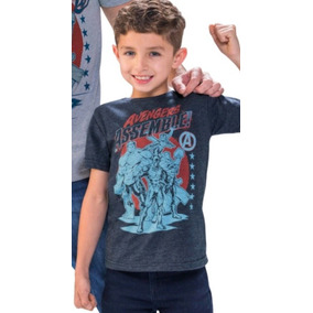 Playera Justice League Niño 1405811 Original And.fer