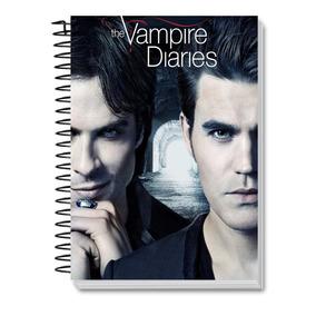 Caderno Personalizados 10 Materias Diario De Um Vampiro