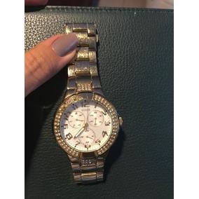67e6843f0c3 Relogio Guess Prism Gold G13537l - Relógios no Mercado Livre Brasil