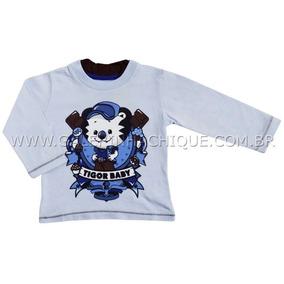Camiseta Tigor T.tigre Manga Longa Símbolo 10201085 e022d2b9b6aeb