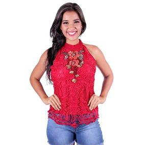 Blusa Com Renda Ellabelle - Asya Fashion