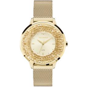 Relógio Technos Elegance Feminino 2035mlg/4x Swarovski